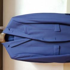 Costum Bigotti bleumarin slim - Costum barbati, Marime: 48