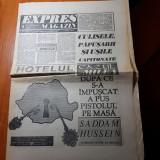 Expres magazin 23-29 august 1990-articol despre sinuciderea lui vasile milea