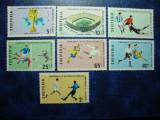 SERIE ALBANIA - CM FOTBAL MEXIC 1970 MNH, Nestampilat