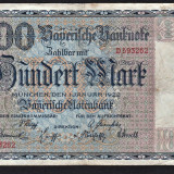 Germania100 Mark s593262 1922