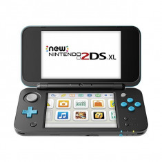 Consola New Nintendo 2DS XL Black + Turquoise GR - Consola Nintendo
