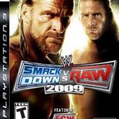 WWE Smack Down vs Raw 2009 - Featuring ECW - PS3 [Second hand] - Jocuri PS3, Sporturi, 12+, Multiplayer