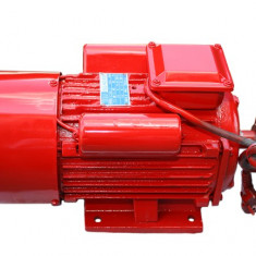 Motor Electric Monofazat 4Kw - 3000 Rotatii/min - TROIAN ROSU