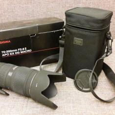 Teleobiectiv Sigma 70-200 F, 28 II APO EX DG pentru Canon - Obiectiv DSLR