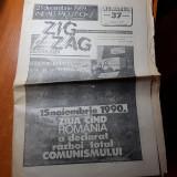 "ziarul zig zag 19-25 noiembrie 1990-articol "" 15 noiembrie 1987 brasov """