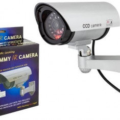 Set 4 camere supraveghere video  false cu  led  rosu avertizor , NOI