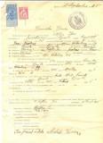 Z321 DOCUMENT VECHI -SCOALA COMERCIALA , BRAILA - FILOFTIA ION  -AN 1925