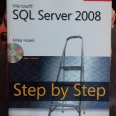 MICROSOFT SQL SERVER 2008 STEP BY STEP - MIKE HOTEK - Carte Informatica
