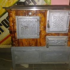 Soba de teracota cu plita si cuptor