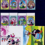 1994 - GAMBIA - DISNEY - EASTER - MICHEL 1834-1841 +BLOCKS 223-224, Animatii, Nestampilat