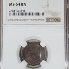 2 bani 1867 Watt MS 64 BN - Moneda Romania