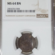 2 bani 1867 Watt MS 64 BN - Moneda Romania