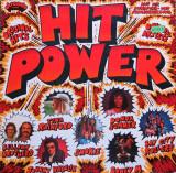 Hit Power (1976, Arcade) disc vinil LP compilatie Pop Rock, Soul, Disco