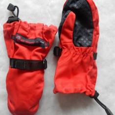 Manusi ski copii M-Sport cu manusi interioare integrate; marime 6; ca noi - Echipament ski