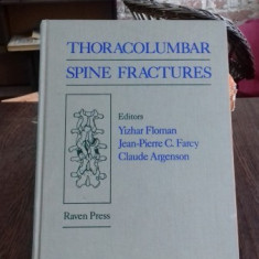 THORACOLUMBAR SPINE FRACTURES - YIZHAR FLOMAN - Carte Diagnostic si tratament