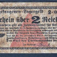 Germania 2 Reichsmark prisoner of war camp money s0233280 - bancnota europa