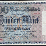 Germania100 Mark s796630 1922
