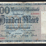 Germania 100 Mark s360985 1922