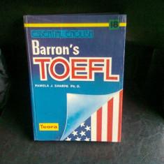 BARRON'S TOEFL - PAMELA J. SHARPE