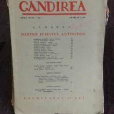 REVISTA GANDIREA NR.4/APRILIE 1938