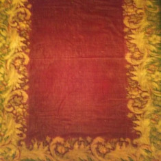 Cuvertura lana plusata tip persan, interbelica