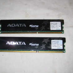 KIT ram pc 4 gb ddr3 2 X 2GB 1600 mhz A DATA, FUNCTIONAL, CL 9-9-9-24 - Memorie RAM A-data, Dual channel