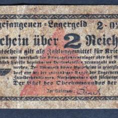 Germania 2 Reichsmark prisoner of war camp money s0233282 - bancnota europa