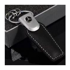 Breloc din piele ecologica auto pentru mercedes benz  + ambalaj cadou, Mercedes-Benz