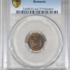 1 banu 1867 Watt MS 64 BN - Moneda Romania
