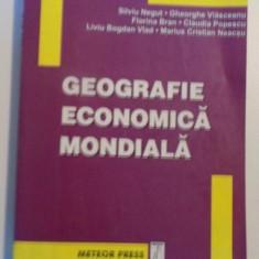 GEOGRAFIE ECONOMICA MONDIALA de SILVIU NEGUT, GHEORGHE VLASCEANU, FLORINA BRAN, MARIUS CRISTIAN NEACSU, 2004 - Carte Marketing