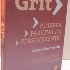 GRIT, PUTEREA PASIUNII SI A PERSEVERENTEI de ANGELA DUCKWORTH, 2016 - Carte Psihologie