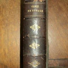 Coligat Carti de scoala, Manual de gramatica limbii romane, ed. II 1883 si ed. III 1884, Curs practic si gradat de stil si compositiuni, 1885 - Carte veche