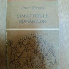CIMILITURILE ROMANILOR de ARTUR GOROVEI - Carte Fabule