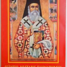 SFANTUL NECTARIE TAUMATURGUL, VIATA, MINUNILE, ACATISTULUI, PARACLISUL SI SLUJBA de MORLOVA NICUSOR - Carti Crestinism