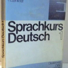 SPRACHKURS DEUTSCH 1 von U. HAUSSERMANN, U. WOODS, H. ZENKNER, 1983 - Carte in alte limbi straine