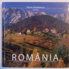 ROMANIA, O AMINTIRE FOTOGRAFICA, UN REGARD PHOTOGRAPHIQUE de FLORIN ANDREESCU, 2008 - Carte Geografie