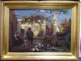 Alois Schonn (1826-1897), In gradina 1879
