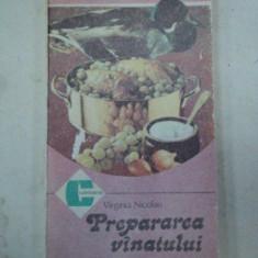 PREPARAREA VANATULUI DE VIRGINIA NICOLAU - Carte Retete traditionale romanesti