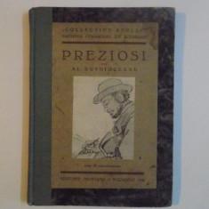Preziosi - par Al. Busuioceanu, Bucarest, 1935