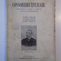 CONVORBIRI LITERARE. NUMAR JUBILAR ALCATUIND VOLUMUL AL CINCIZECISINOULEA, IANUARIE-APRILIE 1927