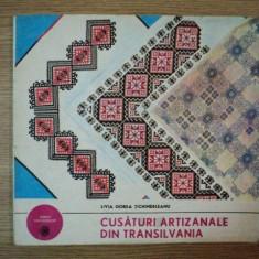 CUSATURI ARTIZANALE DIN TRANSILVANIA ZONA CARPATILOR DE CURBURA, Bucuresti 1976 - Carte Fabule