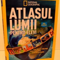 ATLASUL LUMII PENTRU ELEVI, EDITIE ACTUALIZATA, 2016 - Carte Geografie