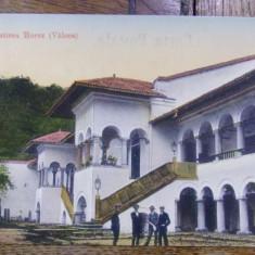 MANASTIREA HOREZ ( VALCEA ) - CARTE POSTALA ILUSTRATA - Harta Europei