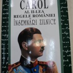 REGELE CAROL AL II-LEA AL ROMANIEI, INSEMNARI ZILNICE, BUCURESTI VOL.III 1997 - Carte Istorie