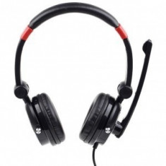 Casti Gembird Over-Head MHS-5.1-001 Black - Casca PC Gembird, USB