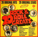 20 Rock & Roll Greats (1974, K-Tel) disc vinil LP compilatie rock'n'roll
