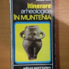 ITINERARE ARHEOLOGICE IN MUNTENIA de MIOARA TURCU, 1985 - Istorie