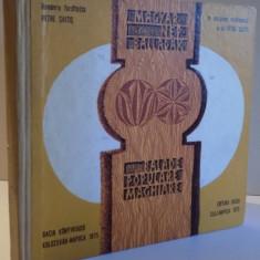 BALADE POPULARE MAGHIARE, VERSIUNEA ROMANEASCA de PETRE SAITIS, 1975 - Carte Fabule