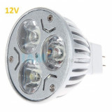 Bec Spot LED MR16 3x1W 12V