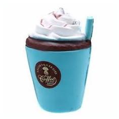 40 lei SQUISHY squishies PARFUMAT Pahar Cafea Frisca ALBASTRU coffee MARE - Jucarie Squishy